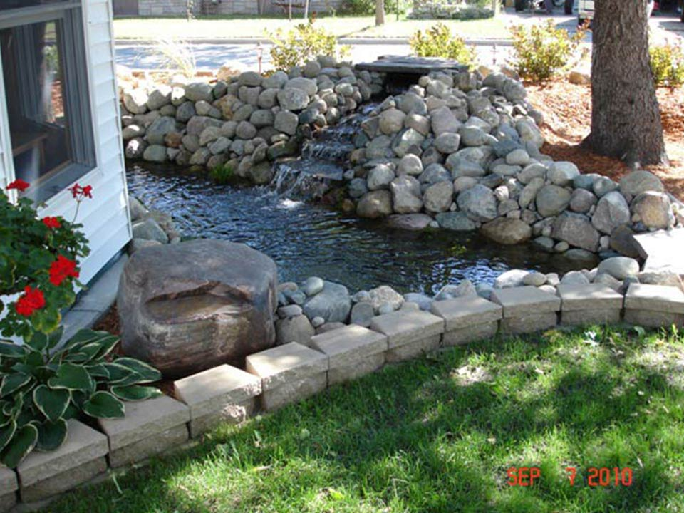Pond waterfall products and supplies half off ponds for Waterfall supplies