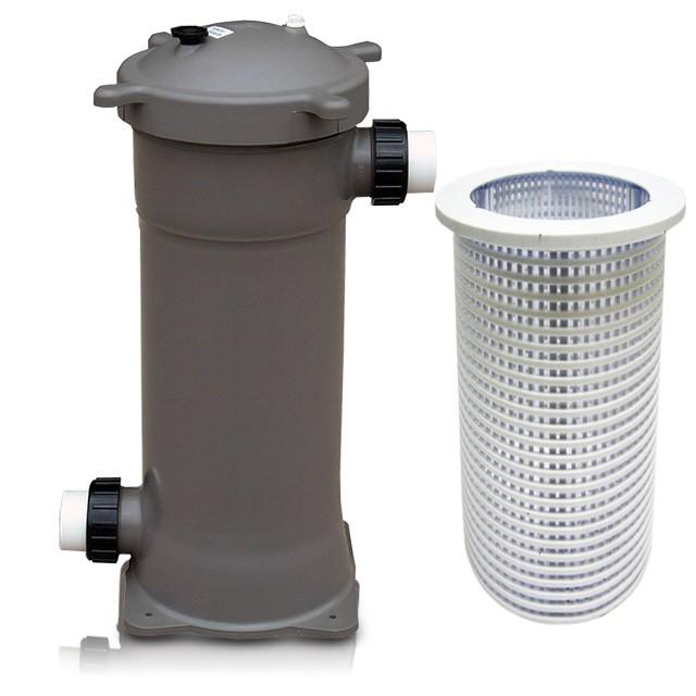 Gc tek aquabead plus filtration system abps 2 5 for Koi filter setup