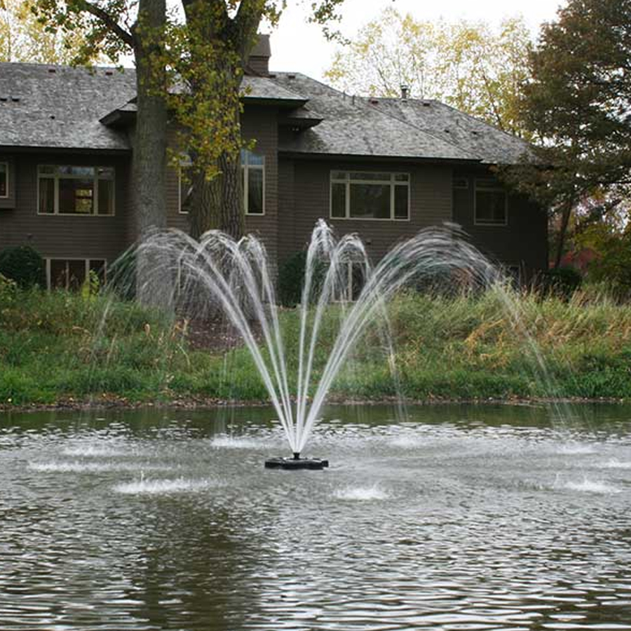 Kasco marine j series decorative fountain 3400hjf150 for Kasco marine de icer motor