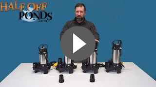 Piranha Direct Drive Waterfall Pumps