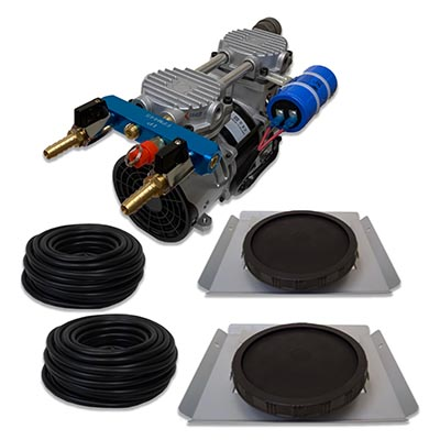 AMAZING PONDS AIR PRO 4.1 CFM AERATION COMPLETE KIT