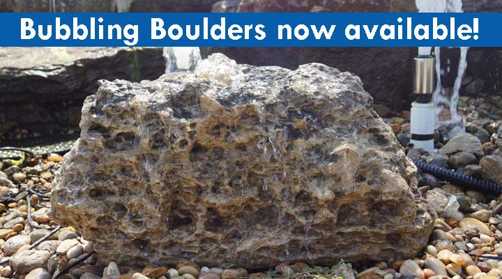 Bubbling Boulders now available!
