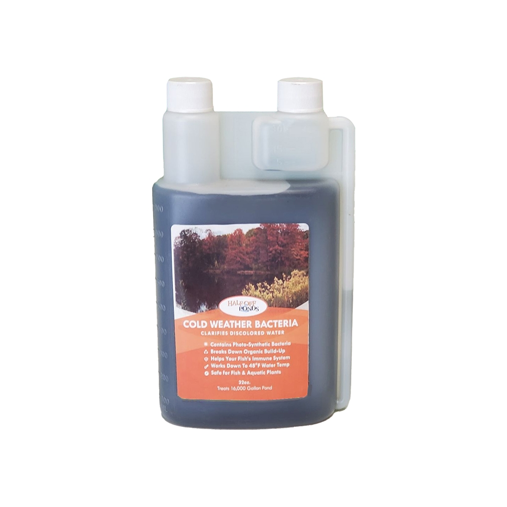 Half Off Ponds Water Treatments Cold Weather Bacteria 32 oz. Bottle - H2OP-CW032OZ